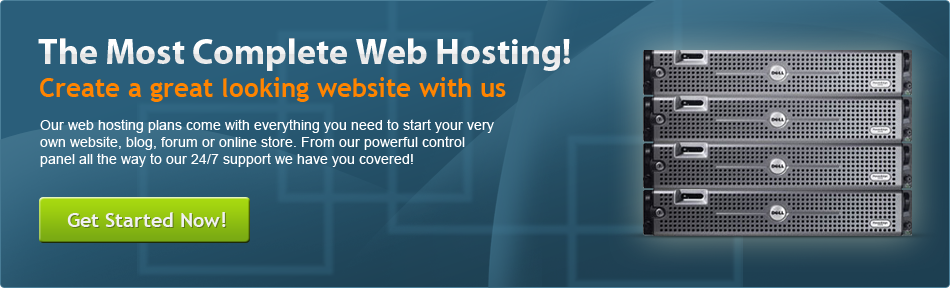 Most complete web hosting